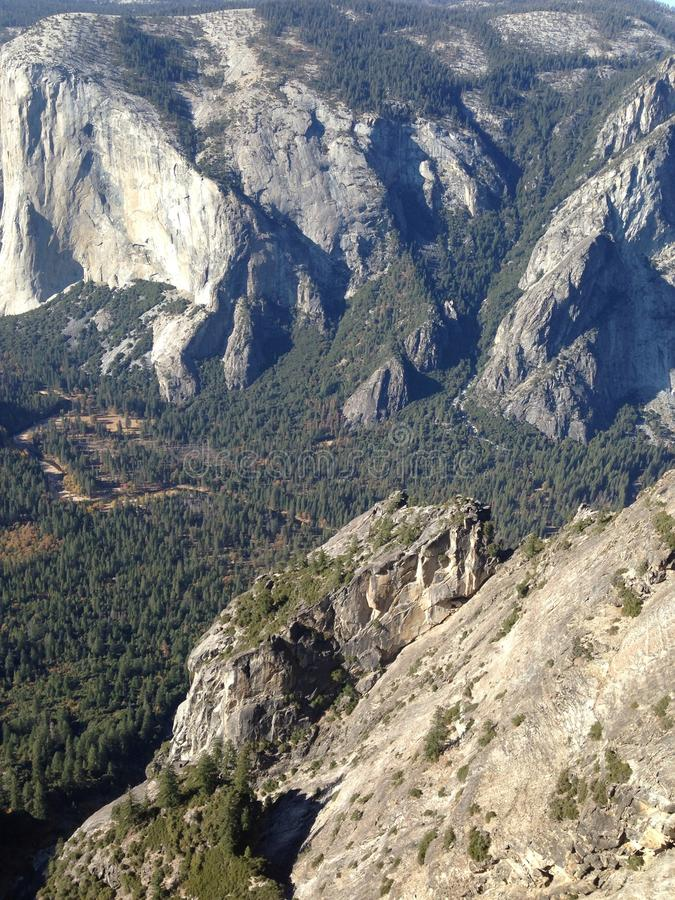 Yosemite park narodowy obraz royalty free