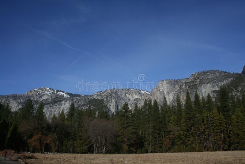 Yosemite parka narodowego góry krajobraz obrazy royalty free