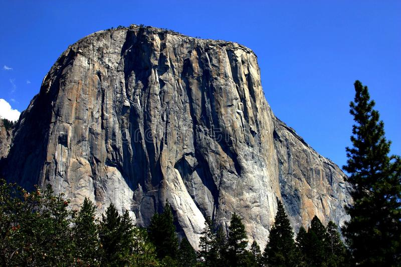 Yosemite Rock Capitan stock fotografie