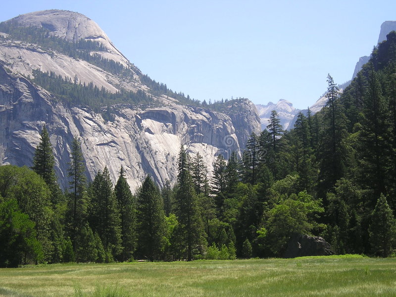 Yosemite Scene stock images