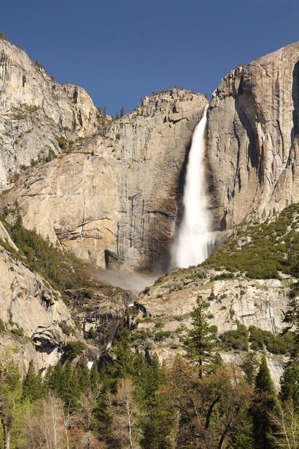 Yosemite Spadki Fotografia Royalty Free