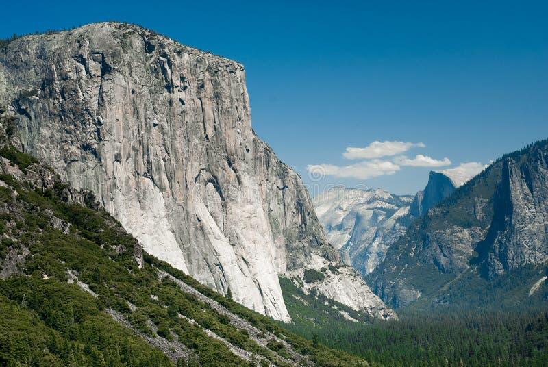 Yosemite-Tunnelansicht lizenzfreies stockbild