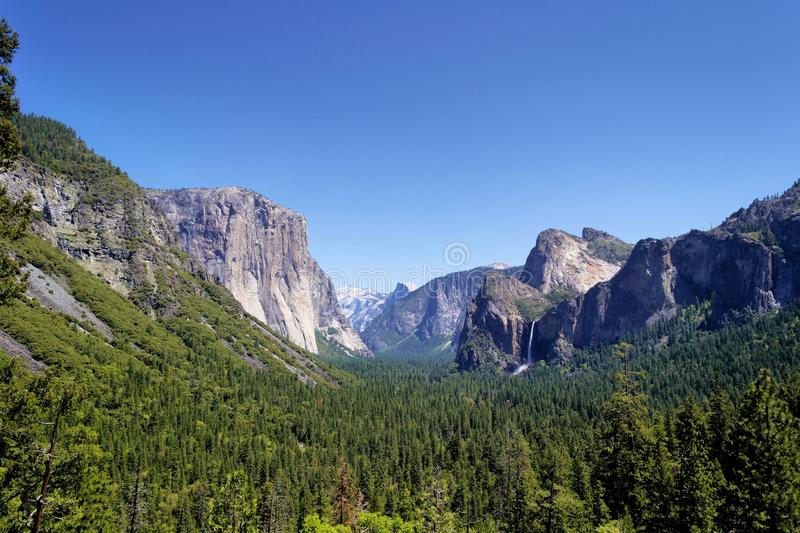 Yosemite Valley National Park. stock photos