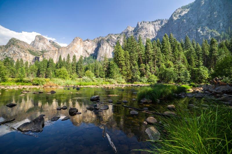 Yosemite Vally royalty-vrije stock fotografie