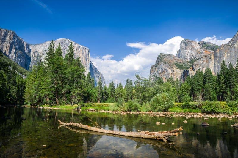 Yosemite Vally stock foto