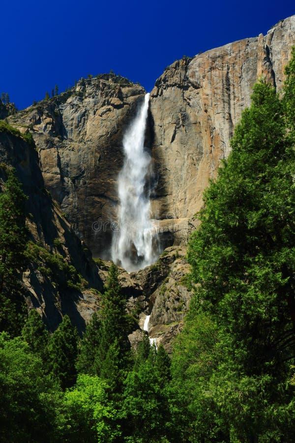 Yosemite vattenfall arkivfoton