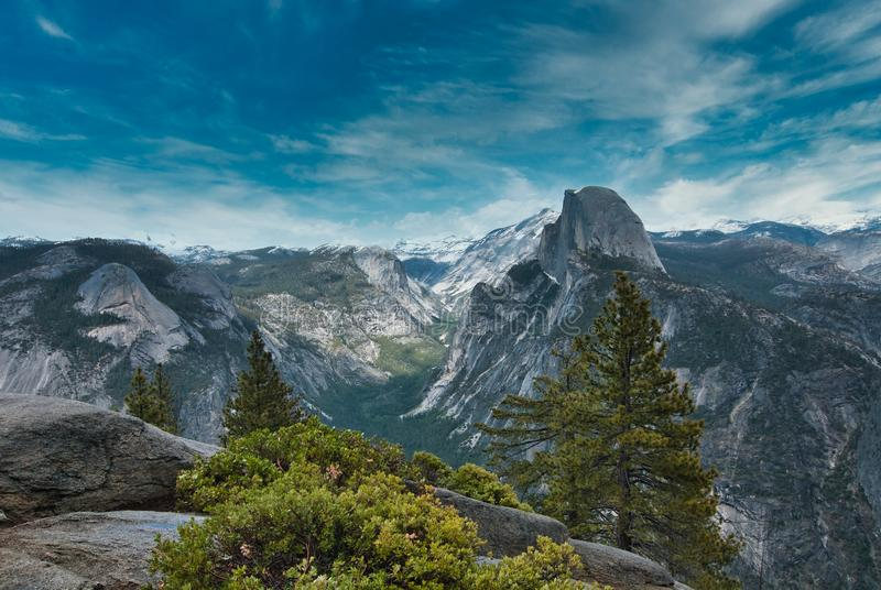 Yosemite view royalty free stock images