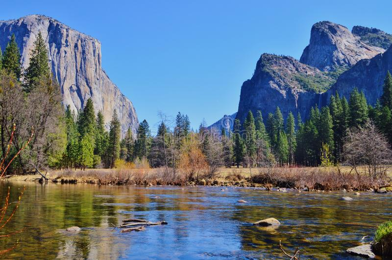 Yosemite stock image