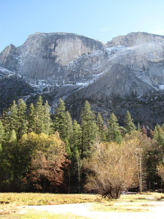 Yosemite w spadku obraz stock