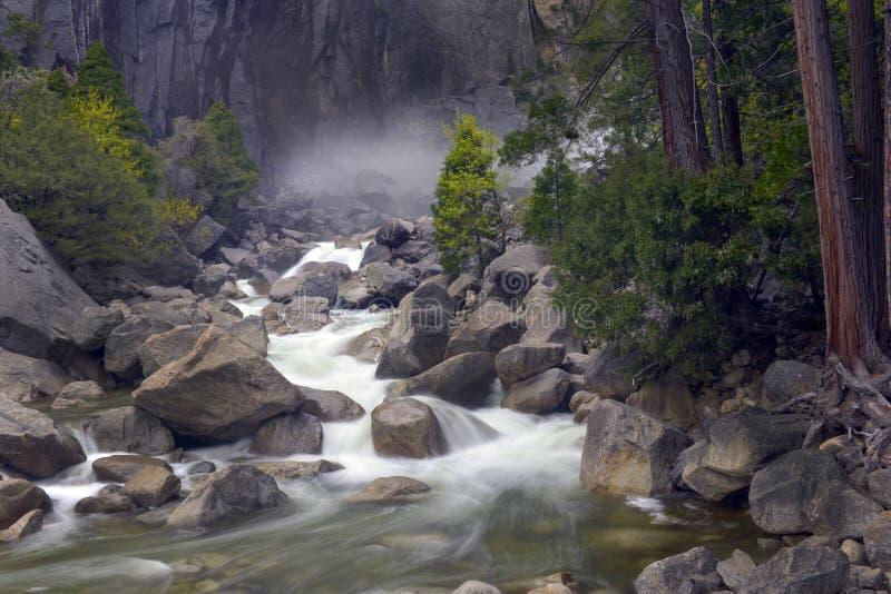 Yosemitedalingen royalty-vrije stock fotografie