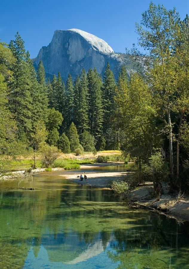 Yosemites Hälftehaube stockbild