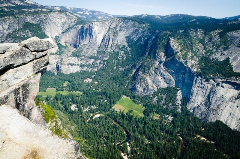 Yosemitevallei in Nationaal Park stock foto