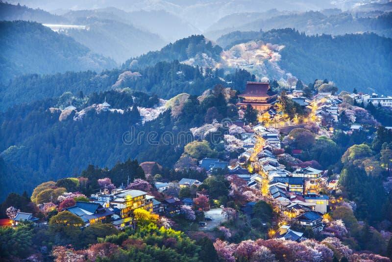 Yoshinoyama,日本 免版税库存图片