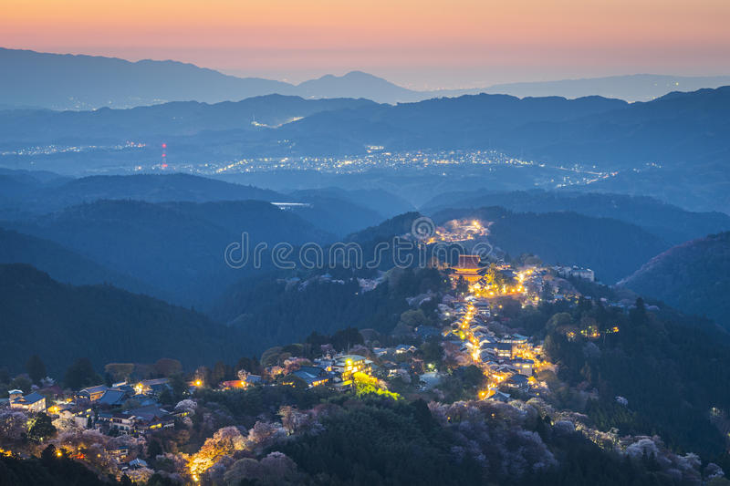 Yoshinoyama, Japan stockfotografie