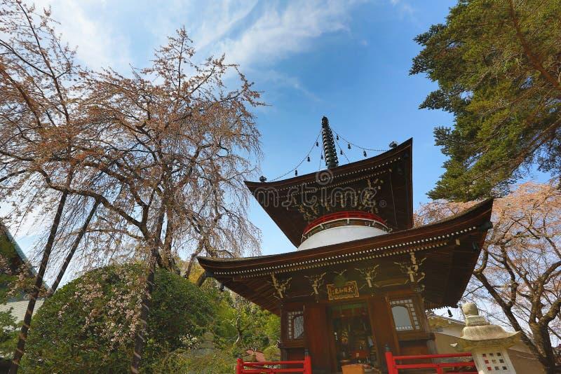 Yoshinoyama, Nara Japan royalty-vrije stock foto's