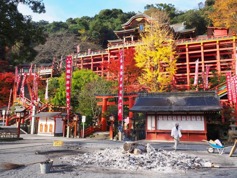 Yotoku Inari świątynia fotografia royalty free