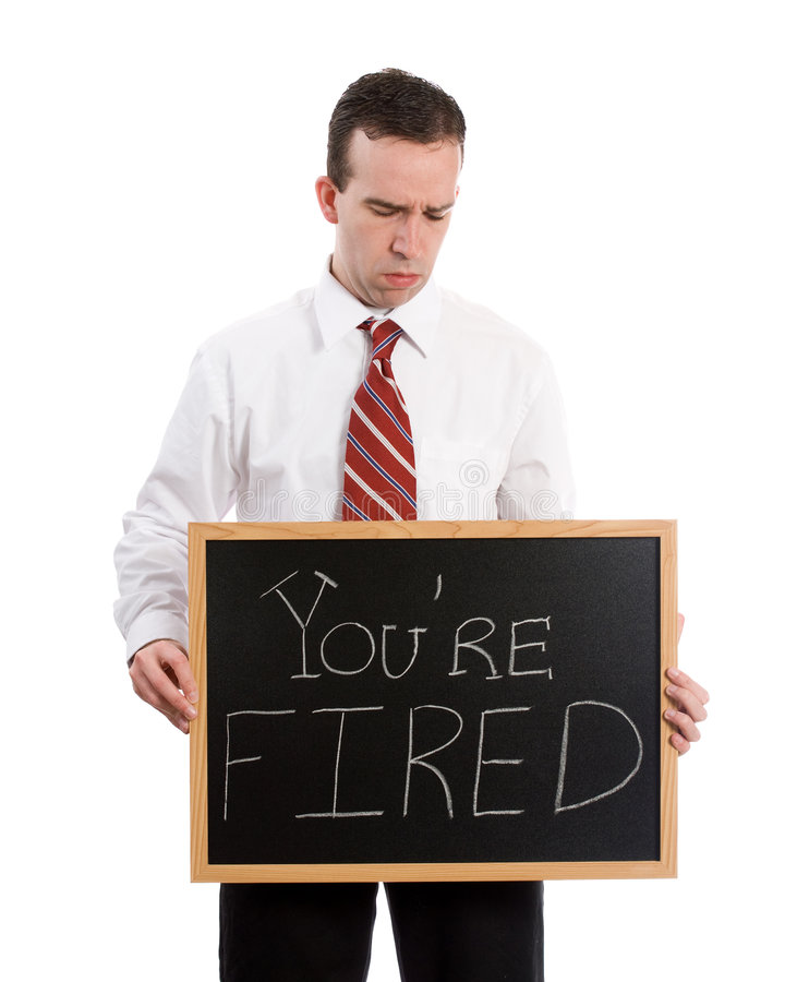 Free You Are Fired Stock Photos - 9152793