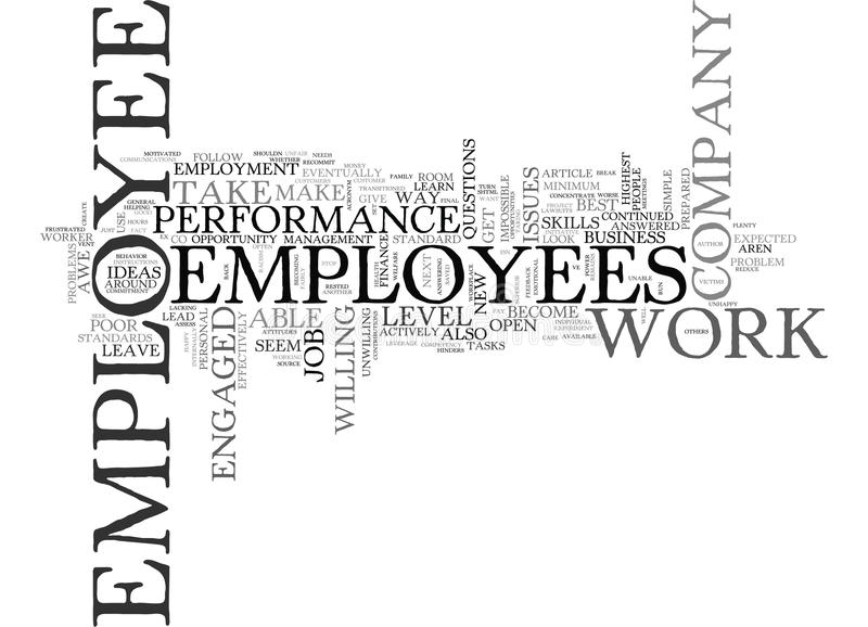 Are You In Awe Of Your Employees Word Cloud. ARE YOU IN AWE OF YOUR EMPLOYEES TEXT WORD CLOUD CONCEPT royalty free illustration