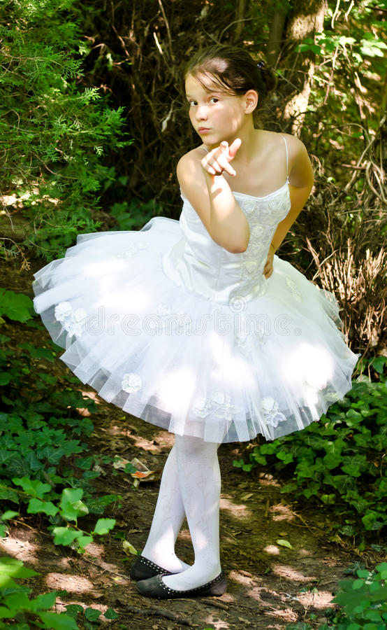 You Can Be A Ballerina Royalty Free Stock Photo