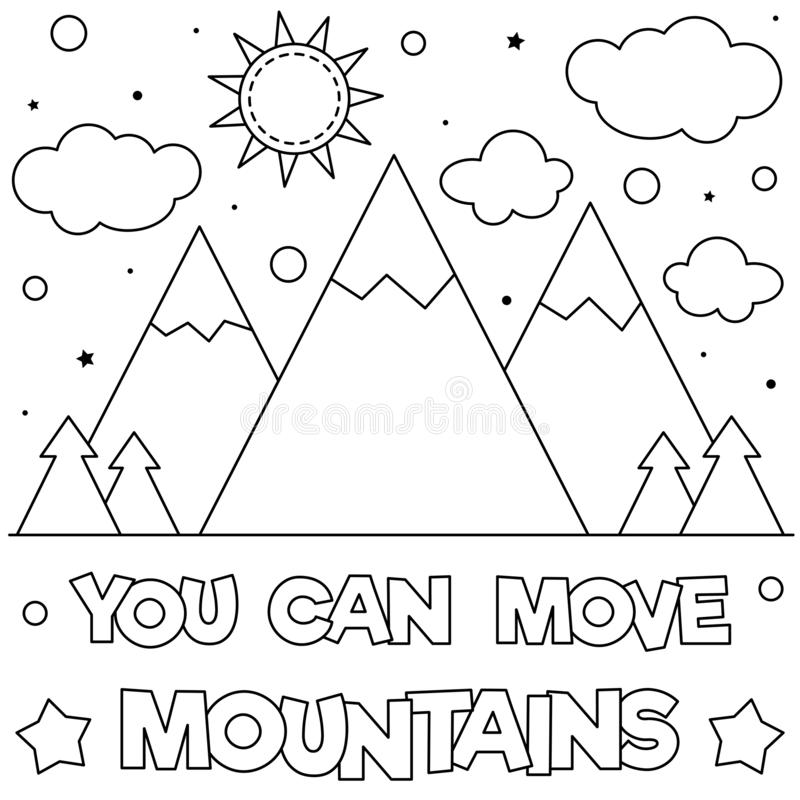 Mountains Coloring Pages - Coloring Home | 800x800