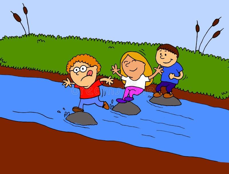 Crossing River Walking Stock Illustrations – 32 Crossing River Walking  Stock Illustrations, Vectors & Clipart - Dreamstime