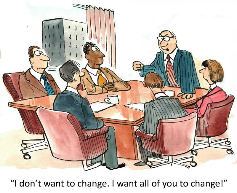 You change vector illustration