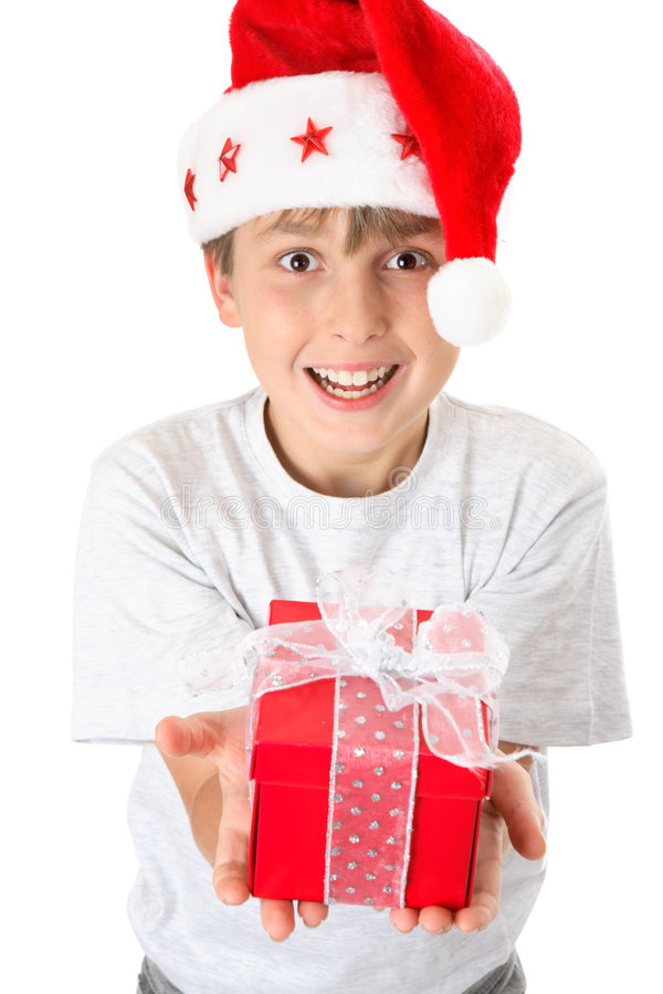 For You at Christmas royalty free stock photos