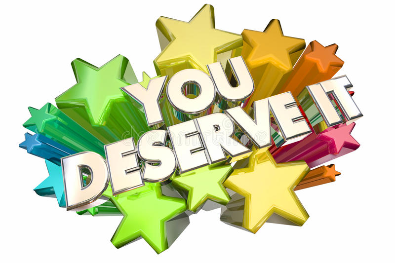 You Deserve It Earn Recognition Rewards Stars Stock ...