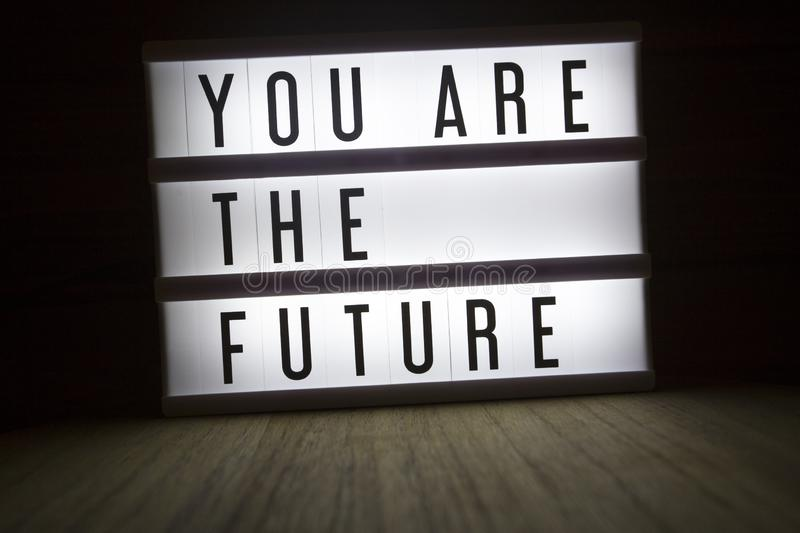 You are the future stock photography