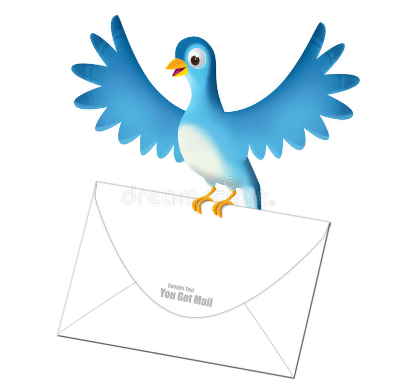 Download You got mail stock illustration. Image of mail, drawing - 15793027