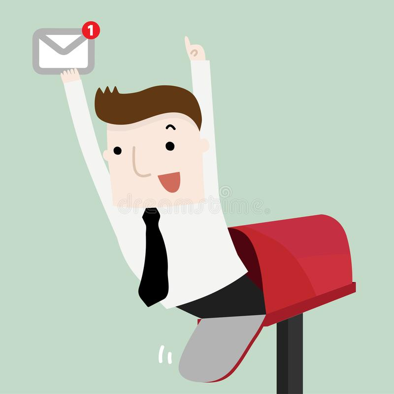 You have got mail vector illustration