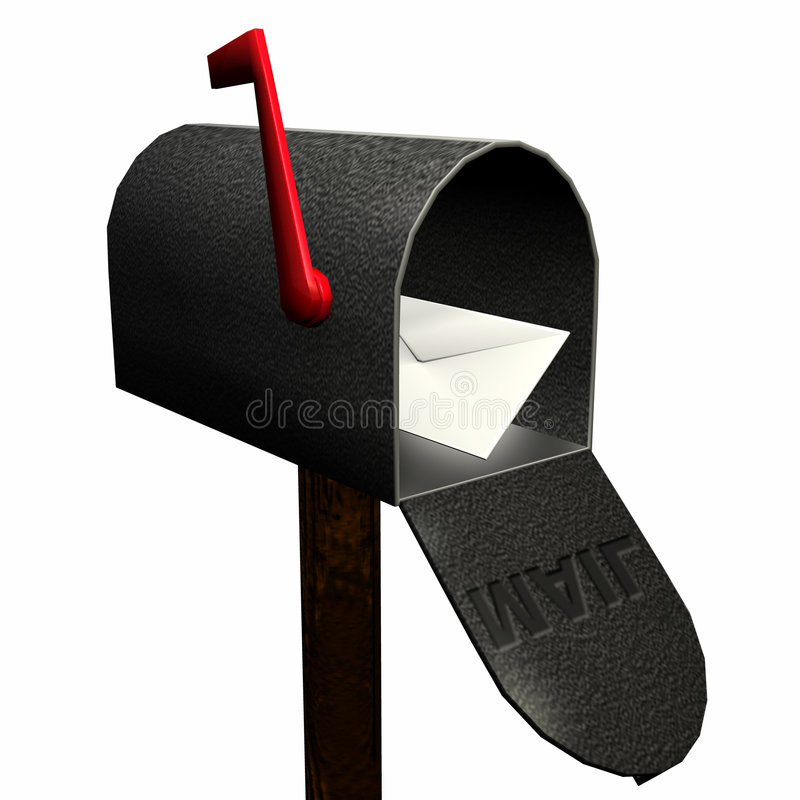 You Have Mail 1 stock illustration