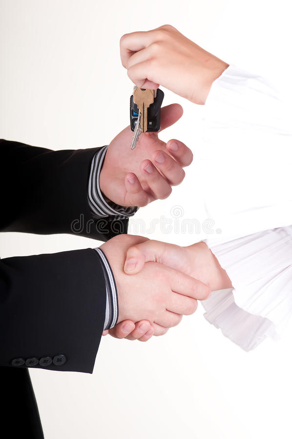 You Just Bought A Car - Close Up Royalty Free Stock Images