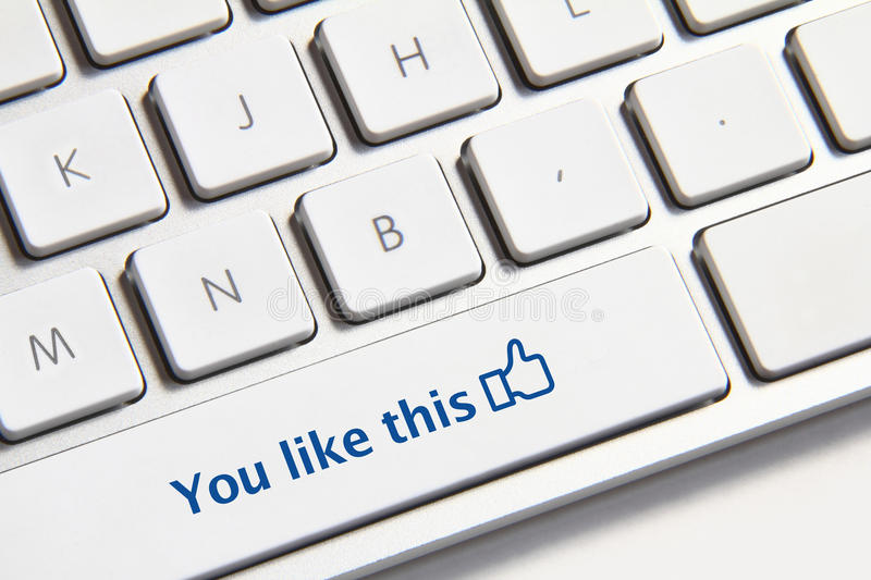 Download You like this button editorial photography. Image of connect - 36271052