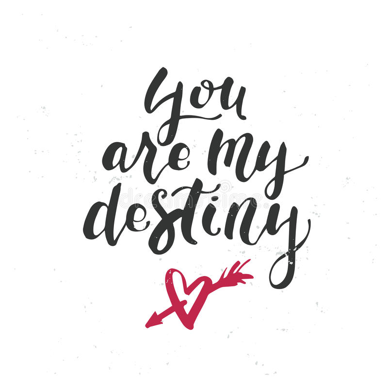 You Are My Destiny Stock Images, Royalty-Free Images & Vectors ...