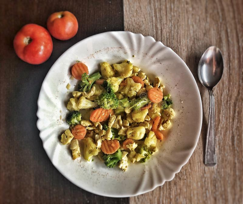 Diet. Vegetables. Bljah. royalty free stock images