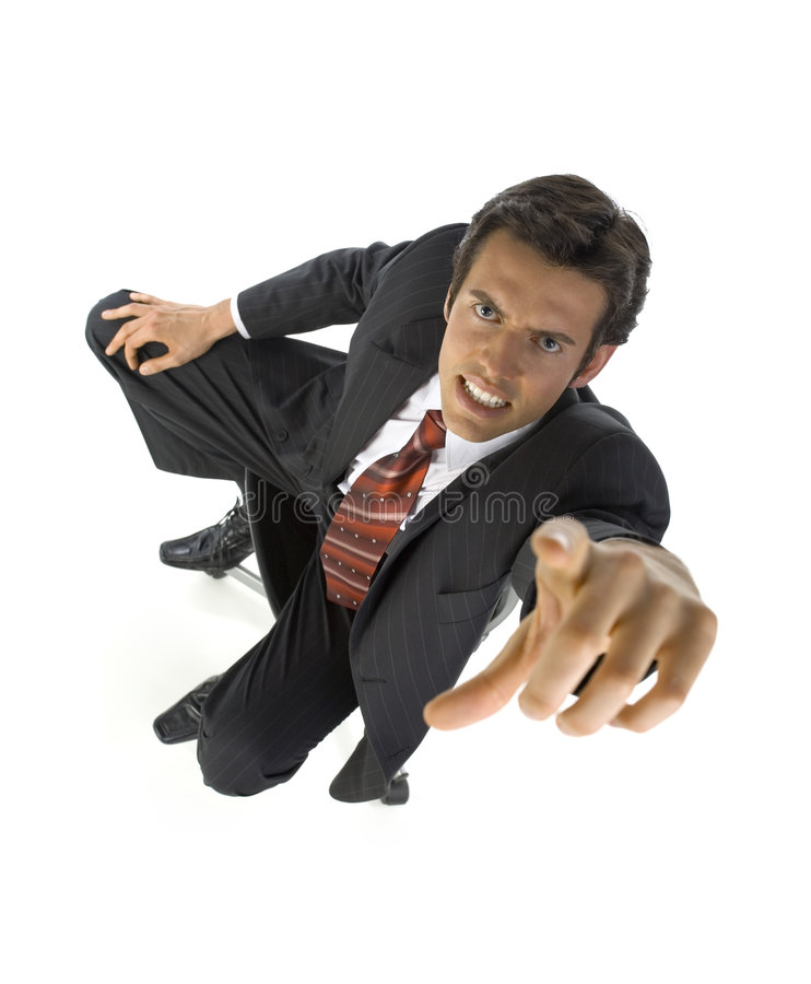You'r fired! stock image