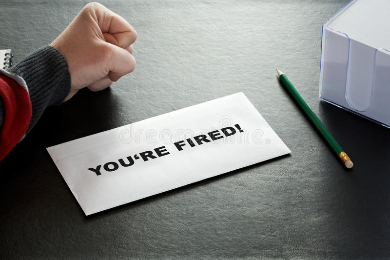 You're fired stock photos