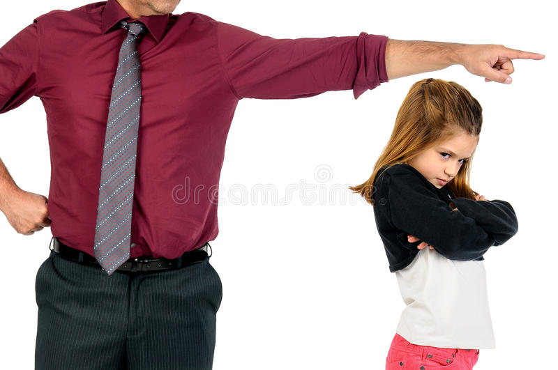 You re grounded!!! stock image. Image of face, punishment ...