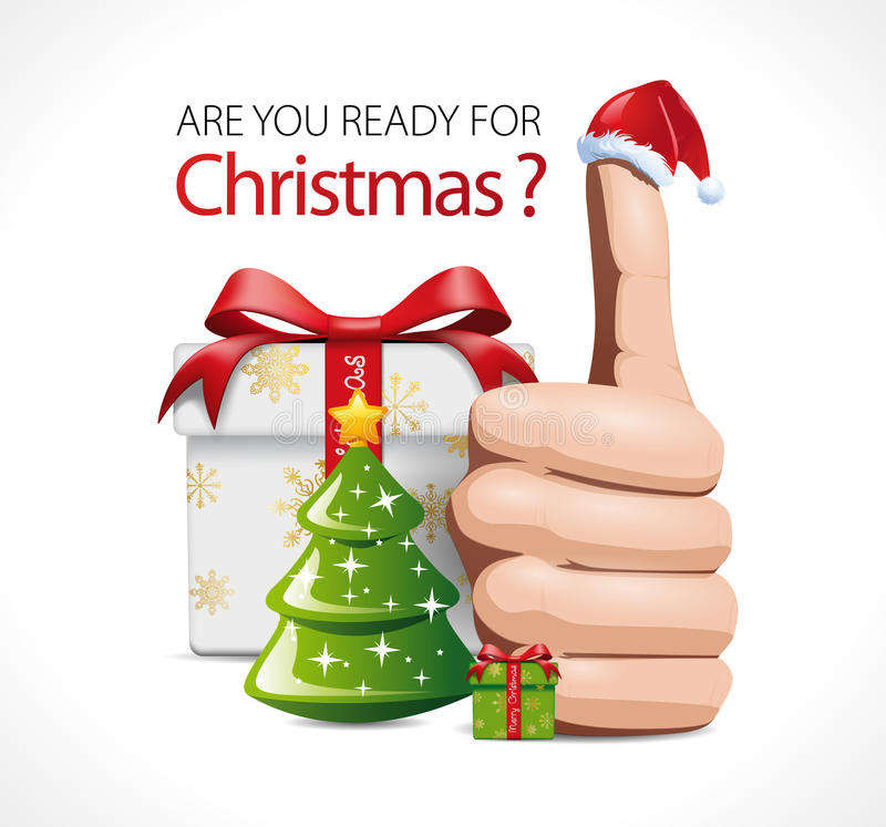Are You Ready For Christmas? Stock Vector - Image: 64656977