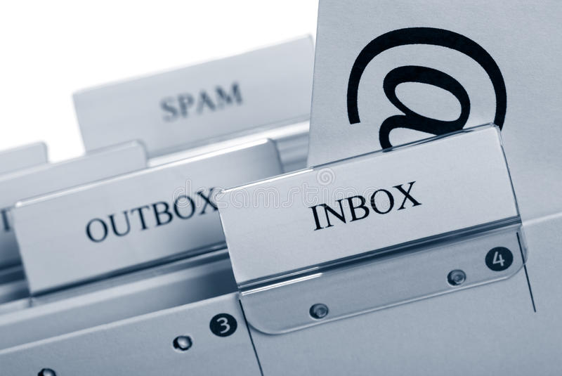 You`ve got mail stock image