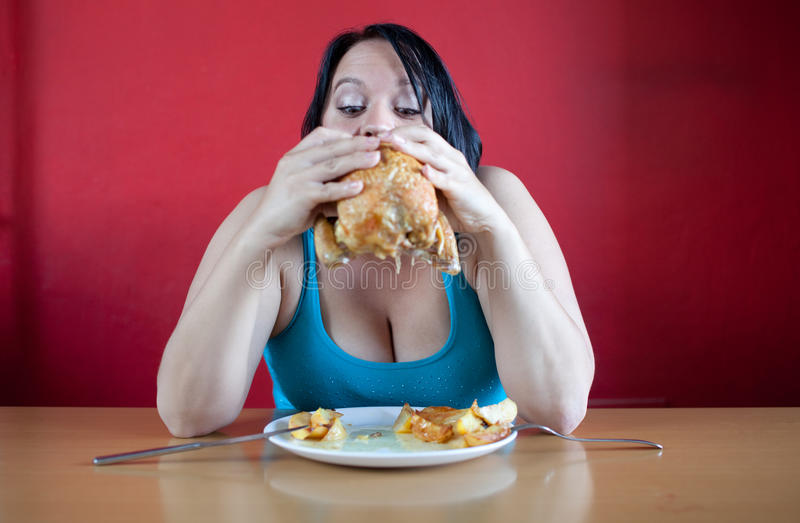 Download You are what you eat stock image. Image of hungry, mouth - 20020741