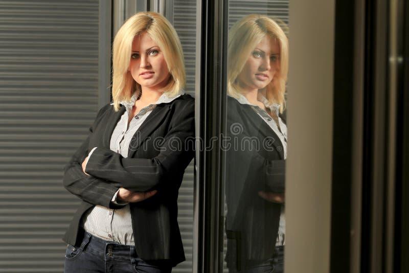 Youg executive woman royalty free stock photos