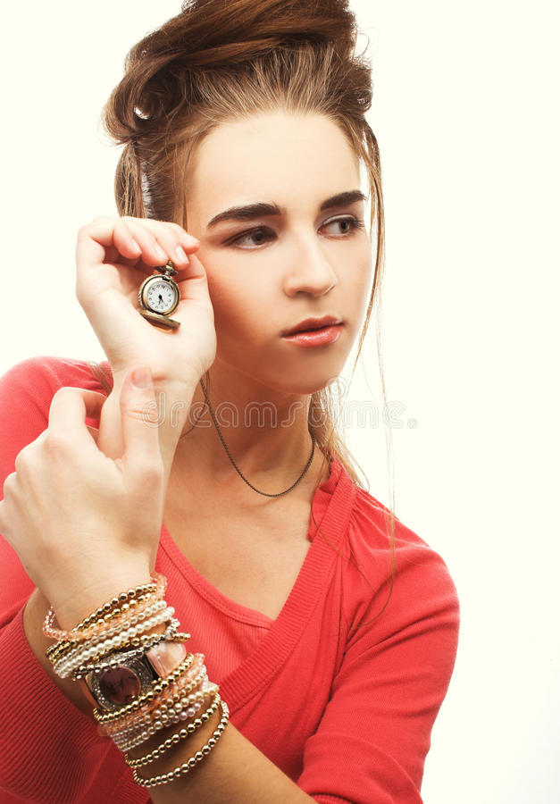 Youmg Woman Stock Photo