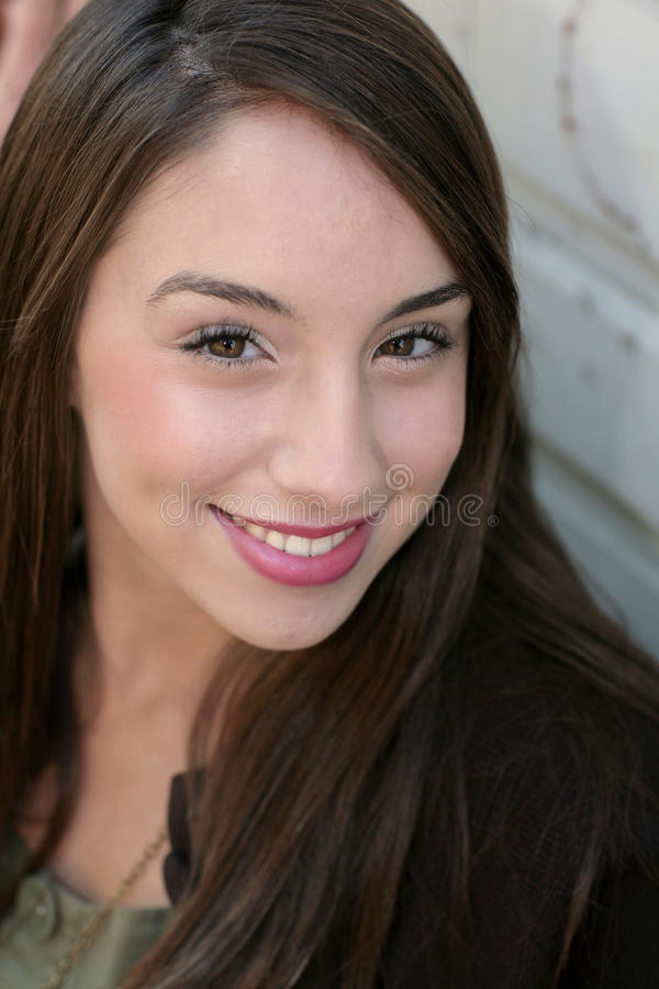 Young adult headshot stock photo