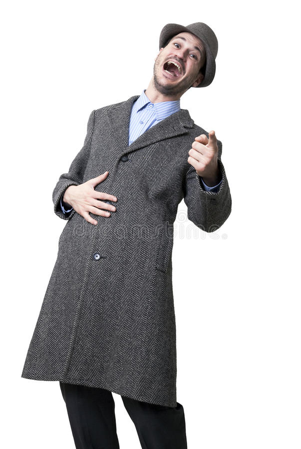 Laughing At You Stock Images