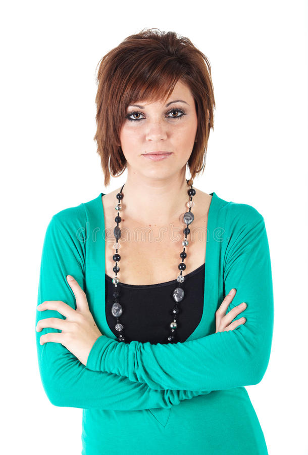 Young adult woman stock image