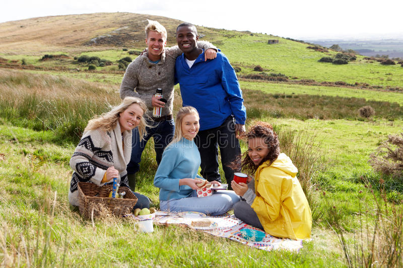 Download Young Adults On Country Picnic Stock Images - Image: 21413614