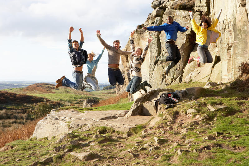 Download Young Adults On Country Walk Stock Photo - Image: 21414488