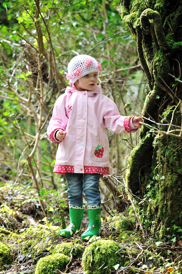 Download A young Adventurer stock photo. Image of little, pink - 40845558